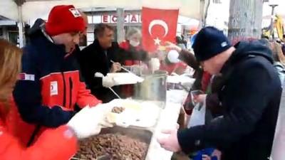 deprem senaryosu - Türk Kızılayı Manisa'da deprem tatbikatı yaptı
