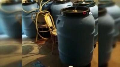 Çanakkale'de kaçak içki ve uyuşturucu operasyonu