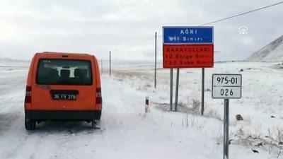 Doğu Anadolu'da 1803 köy ve mahalle yoluna ulaşım yok - IĞDIR