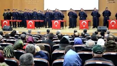 Karaman'da kısa dönem erlerin yemin töreni