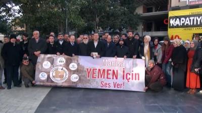 Manisa'dan Yemen'e destek çağrısı