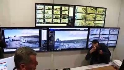 Ticaret Bakanı Pekcan - İpsala Sınır Kapısı'nda 1,5 ton esrar ele geçirilmesi - GAZİANTEP