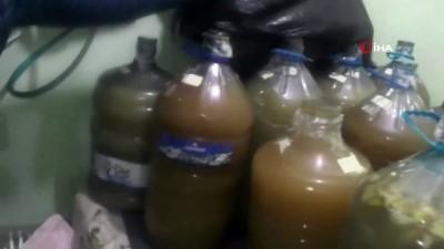 Yalova'da yılbaşı öncesi kaçak içki operasyonu