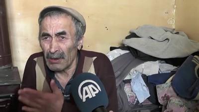 Yaşlı kardeşler barakada yaşam mücadelesi veriyor - DÜZCE