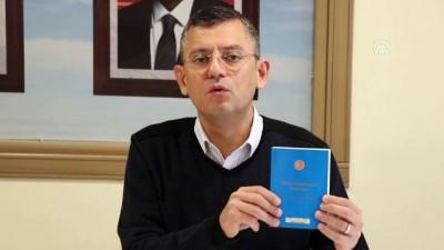 CHP Grup Başkanvekili Özel: 'Binali Yıldırım'ın istifa etmesi gerekir' - MANİSA