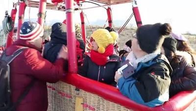 Pamukkale'de balon turlarına yoğun ilgi - DENİZLİ