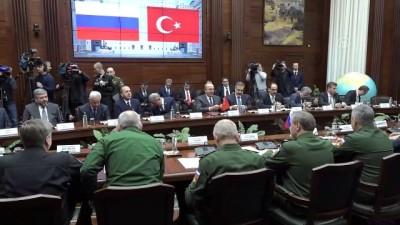 Türk ve Rus heyetlerin Suriye konulu temasları - MOSKOVA