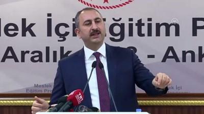 Adalet Bakanı Gül: 'Yargı mensuplarımız demokrasi nöbetini tutmaya devam etmektedir ' - ANKARA