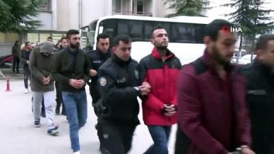 uyusturucu madde -  Amasya merkezli uyuşturucu operasyonunda 5 tutuklama, 14 şüpheli adliyede