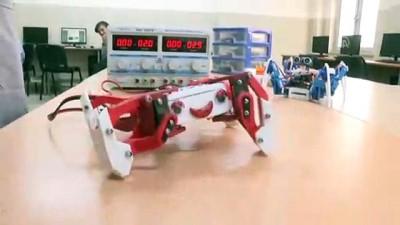 Azmiyle engelleri aşarak robot tasarım ekibine katıldı - SAKARYA
