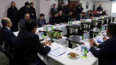 Bolu Dağı kış tedbirleri toplantısı gerçekleştirildi