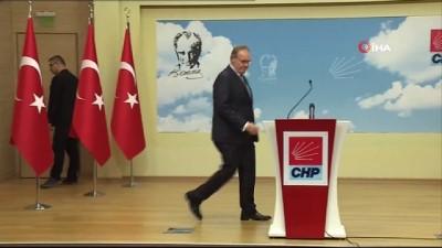 CHP'den İstanbul ve Ankara adaylarıyla ilgili açıklama