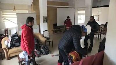 helikopter - Demirkazık'ta kayıp dağcıyı kurtarma çalışmaları - NİĞDE
