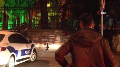 ozel harekat polisleri -  Fatih'te çarşaflı bir erkek şahıs mahalle bekçisine ateş açtı