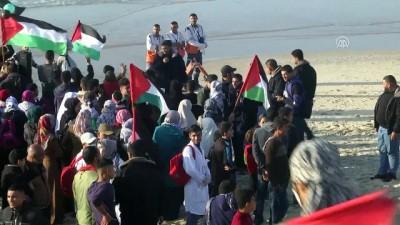 İsrail güçleri Gazze sahilinde 4 Filistinliyi yaraladı