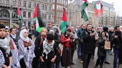Hollanda'da Filistinlilerin 'Dönüş Anahtarı' anıtı sergilendi - AMSTERDAM