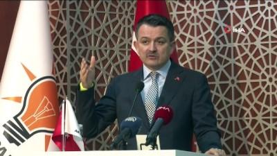 """- Bakan Pakdemirli: """"CHP safsata siyaseti üzerinden iş yapıyorlar"""""""