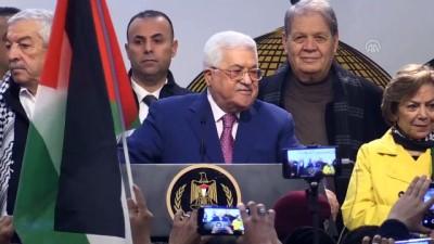 multeci - Filistin Devlet Başkanı Abbas: 'Yüzyılın anlaşmasını asla kabul etmeyeceğiz' - RAMALLAH