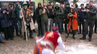 Tunceli'de geleneksel 'gağan' etkinliğinde renkli görüntüler