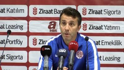 Antalyaspor - Darıca Gençlerbirliği maçının ardından - ANTALYA