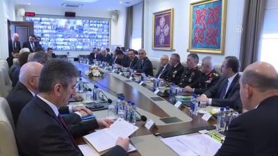 Bakan Soylu'dan 'güvenlik' toplantısı - ANKARA
