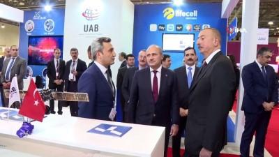 - Bakan Turhan 'Bakutel-2018' Fuarı'nda Türkiye ulusal standını ziyaret etti