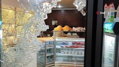 - Bursa'da fırın ve kasaba gece yarısı molotoflu saldırı kamerada