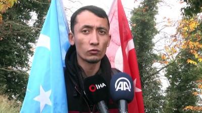 farkindalik - Doğu Türkistan için kilometrelerce yol yürüyorlar - SAKARYA
