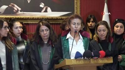 Kadın avukatlardan Mersin'deki kadın cinayetine tepki