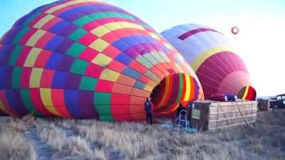 farkindalik -  Kapadokya'da balonlar lösemili çocuklar için havalandı