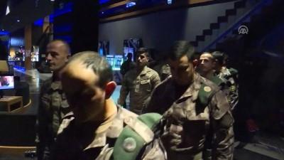 Özel harekat polisi ve jandarma komandoları 'Deliler' filmini izledi - ANKARA