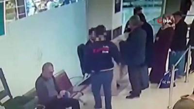 kimlik tespiti -  41 yıl hapis cezası bulunan şahıs havalimanında yakalandı