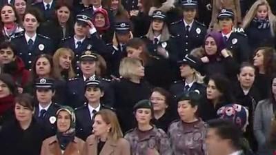 ozel harekat polisleri -  Bakan Selçuk: '2023 hedeflerinde kadınlar olarak öncü rol oynamayı sürdüreceğiz'