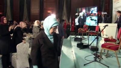 """Emine Erdoğan: """"Kadınlarımızın yerel yönetimlerde söz sahibi olmasını güçlü bir şekilde destekliyoruz"""""""