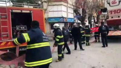 itfaiye araci -  Eskişehir'de 8 katlı binadaki yangın paniği