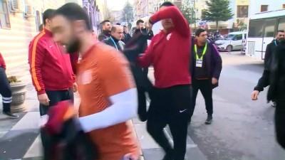 Galatasaray kafilesi, Ankara'ya geldi