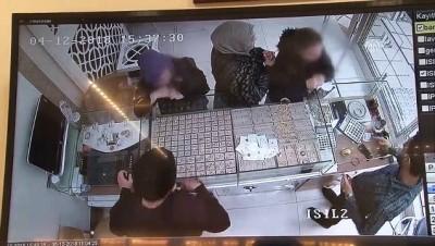 guvenlik kamerasi - Kuyumcudan hırsızlık güvenlik kamerasına yansıdı - ELAZIĞ