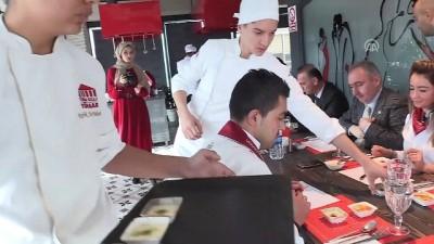 Liseli aşçılar birincilik için yarıştı - ANKARA