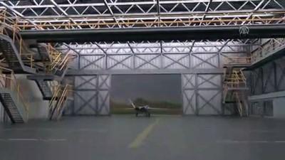 farkindalik - Milli savaş uçağı rüzgar tünelinde - ANKARA