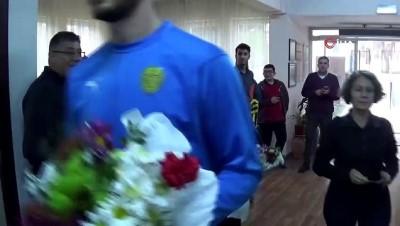 MKE Ankaragücü futbolcularından örnek davranış
