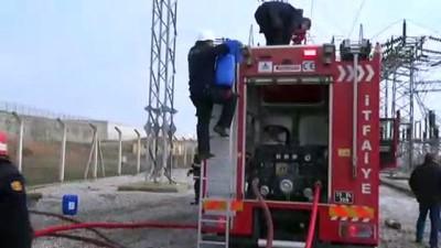 OSB'de patlayan trafo yangına neden oldu - ÇORUM