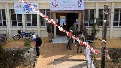 cocuk hastaliklari - Sağlık Bakanlığı Afrin'in Racu beldesinde sağlık merkezi açtı (1) - AFRİN