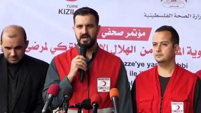 Türk Kızılayı'ndan Gazze'ye 8,5 tonluk ilaç yardımı - GAZZE