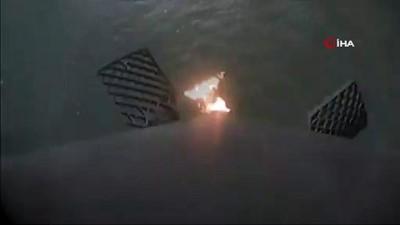- Spacex Falcon Roketi Denize Zorunlu İniş Yaptı