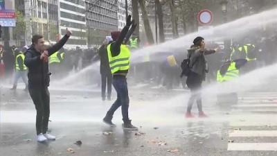 'Sarı Yelekliler' hareketi Fransa'dan sonra Belçika'da