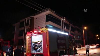 patlama sesi - Apartman dairesinde patlama: 2 yaralı (2) - DENİZLİ