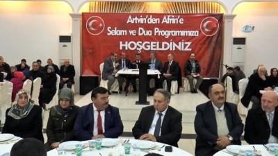 'Artvin'den Afrin'e Selam ve Dua' programı