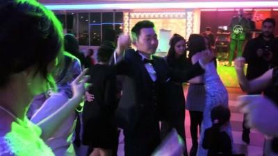 Aydın'da Japon damada Türk düğünü