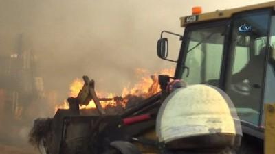 Bakan Fakıbaba'nın 6 ay önce ziyaret ettiği besi çiftliğinde yangın çıktı