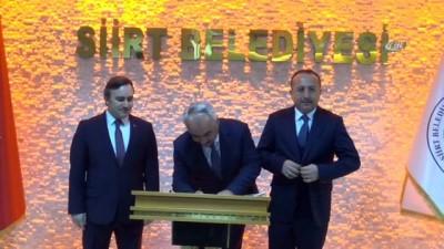 İçişleri Bakan Yardımcısı Ersoy, Siirt Belediyesini ziyaret etti